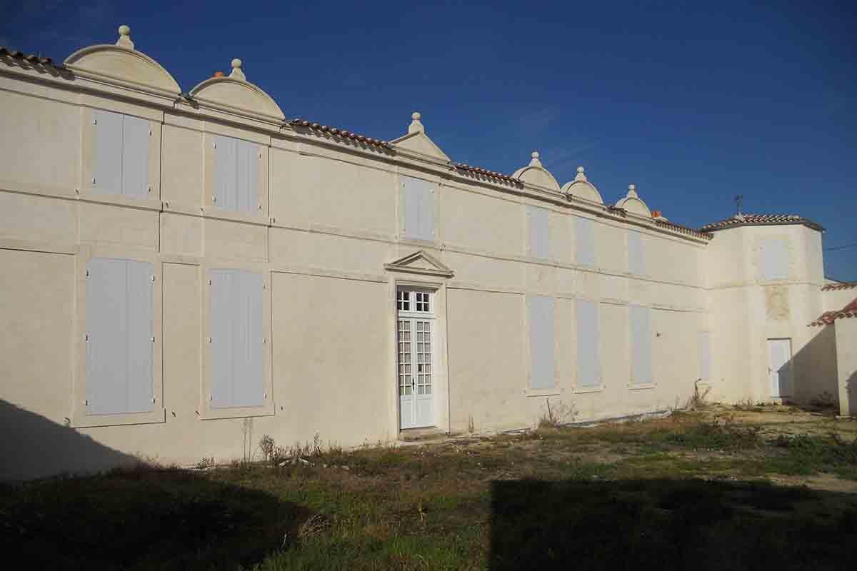 Enduits réalisés par l'entreprise François CELLIER, spécialiste de la rénovation du bâti ancien en Charente Maritime