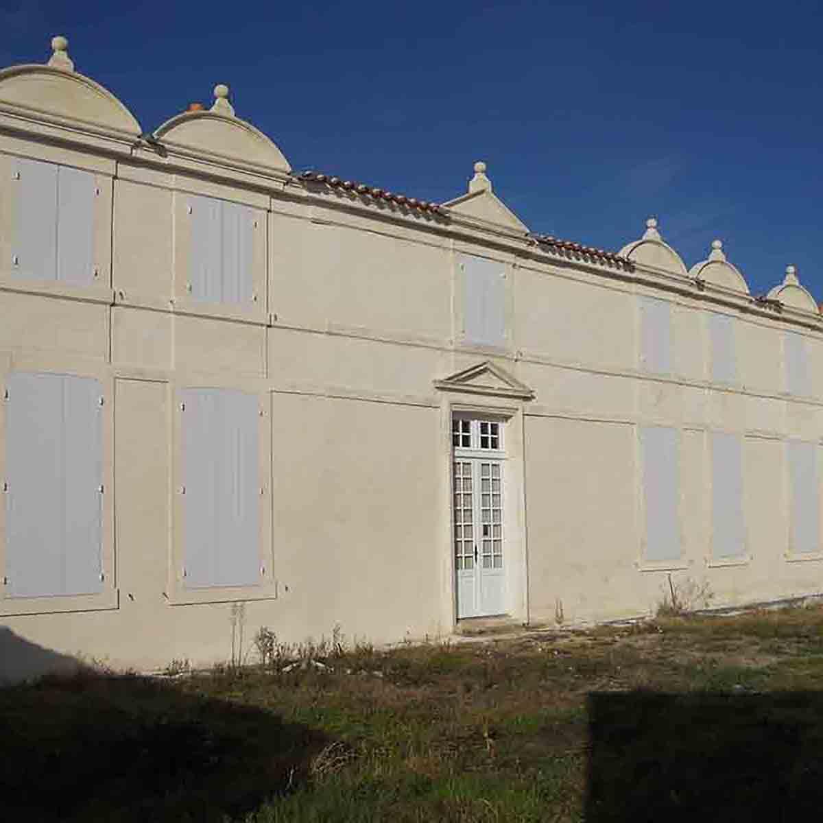 Enduits extérieurs réalisés par l'entreprise François Cellier, spécialiste de la rénovation du bâti ancien