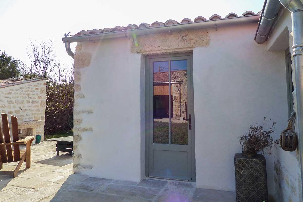 maison rénovée par François Cellier, rénovation du bâti ancien en Charente Maritime