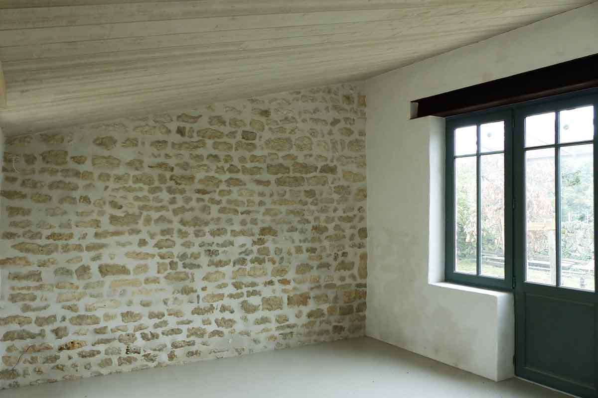 maçonnerie intérieure par François CELLIER - spécialiste de la rénovation du bâti ancien